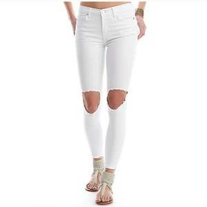 FREE PEOPLE Busted Skinny Jean